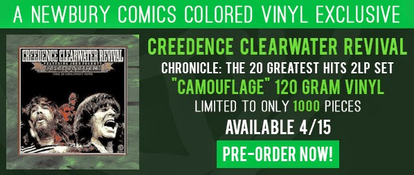 Pop Culture On Wax Ccr Chronicle Limited Vinyl Reissue