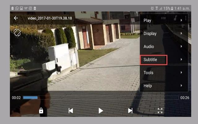 11 - ترجم أي فلم على هاتفك بتطبيق mx player الخرافي