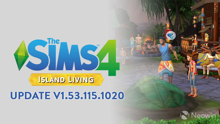 THE SIMS 4 PATCH UPDATE V1.53.115.1020