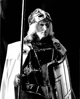 Anne Evans as Brunnhilde in Wagner's Die Walküre at WNO in 1984 (Photo Clive Barda)