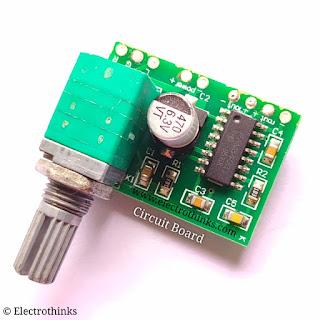 PAM8403 GF1002 3W Stereo Audio amplifier module Circuit board