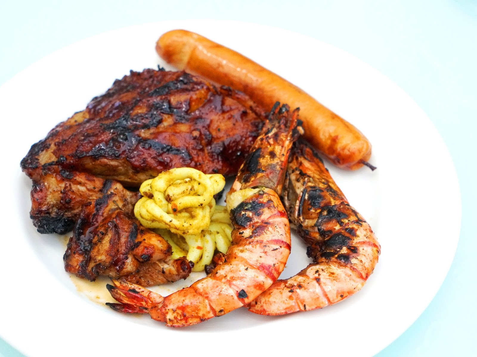 Pinkypiggu Sumptuous Weekend Barbecue Buffet Dinner Cocobolo