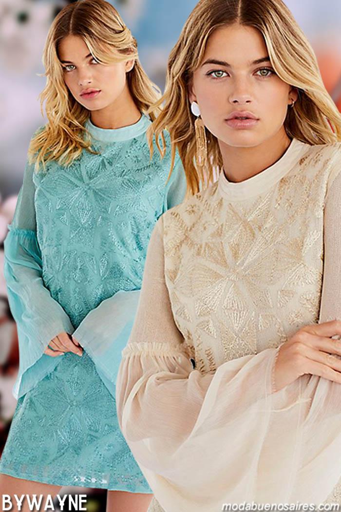 Moda primavera verano 2020 vestidos. Vestidos primavera verano 2020.