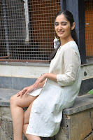 Radhika Cute Young New Actress in White Long Transparent Kurta ~  Exclusive Celebrities Galleries 018.JPG