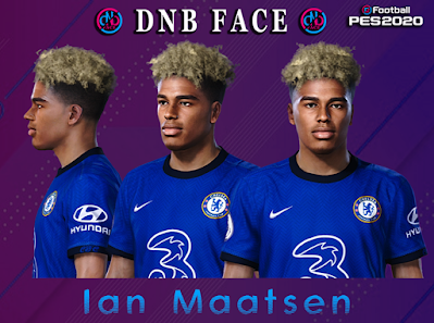 PES 2020 Faces Ian Maatsen by DNB