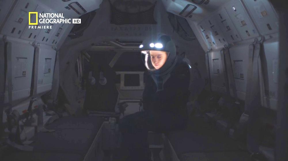 National Geographic's MARS - episode 3, season 2 (freezing Martian night)