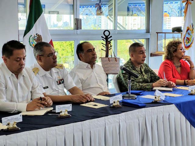 Destaca Gobernador Astudillo coordinación de tres niveles de Gobierno para reducir índices delictivos en Guerrero