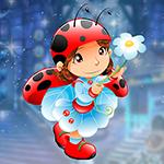 Games4King - G4K Graceful Ladybug Escape Game