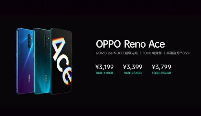أوبو تكشف عن هاتف Reno Ace