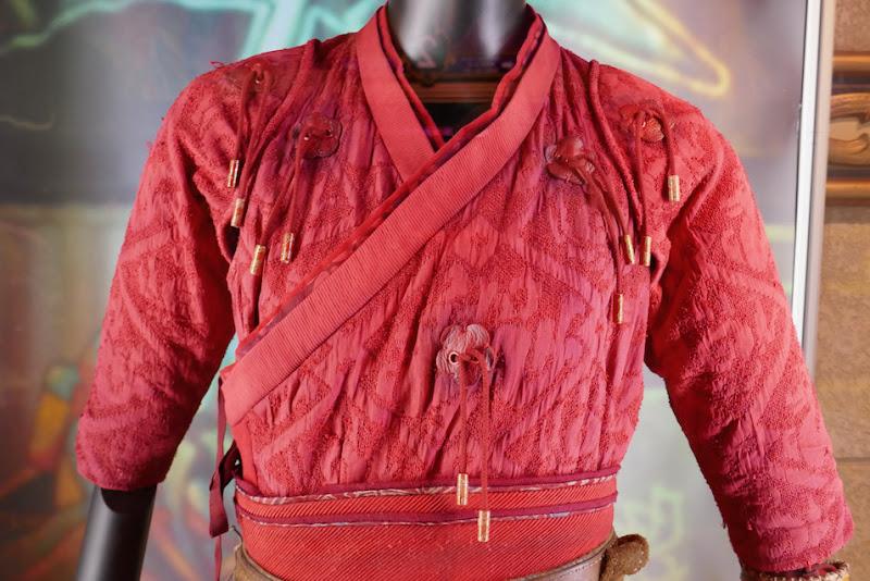 Shang-Chi Katy movie costume detail