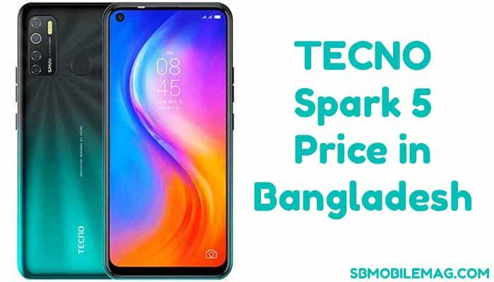 Tecno Spark 5 Price in Bangladesh & Specs