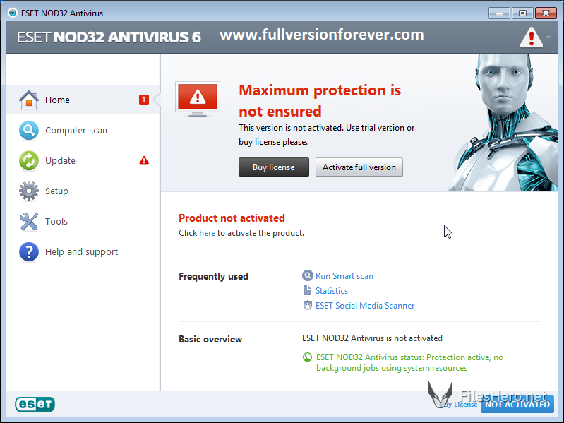 ESET NOD32 Antivirus & Smart Security latest Serial