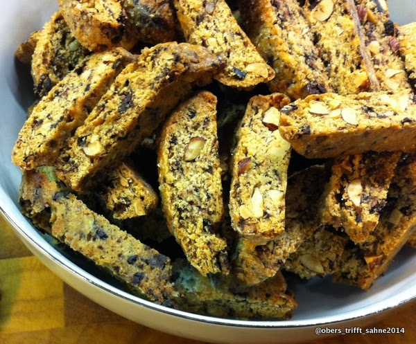 Cantuccini mit Lakritze