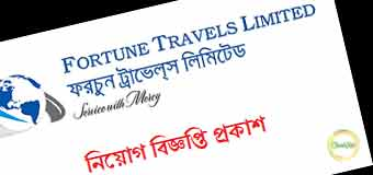 Job Circular 2019-Fortune Travels Limited Image