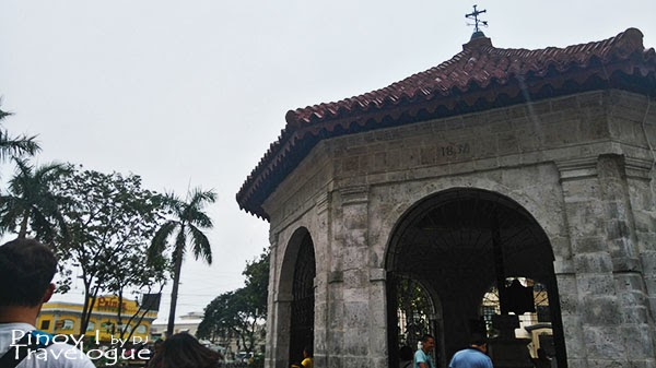 Magellan's Cross chapel