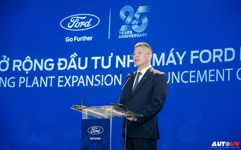 Ông Phạm Văn Dũng, Tổng Giám đốc Ford Việt Nam