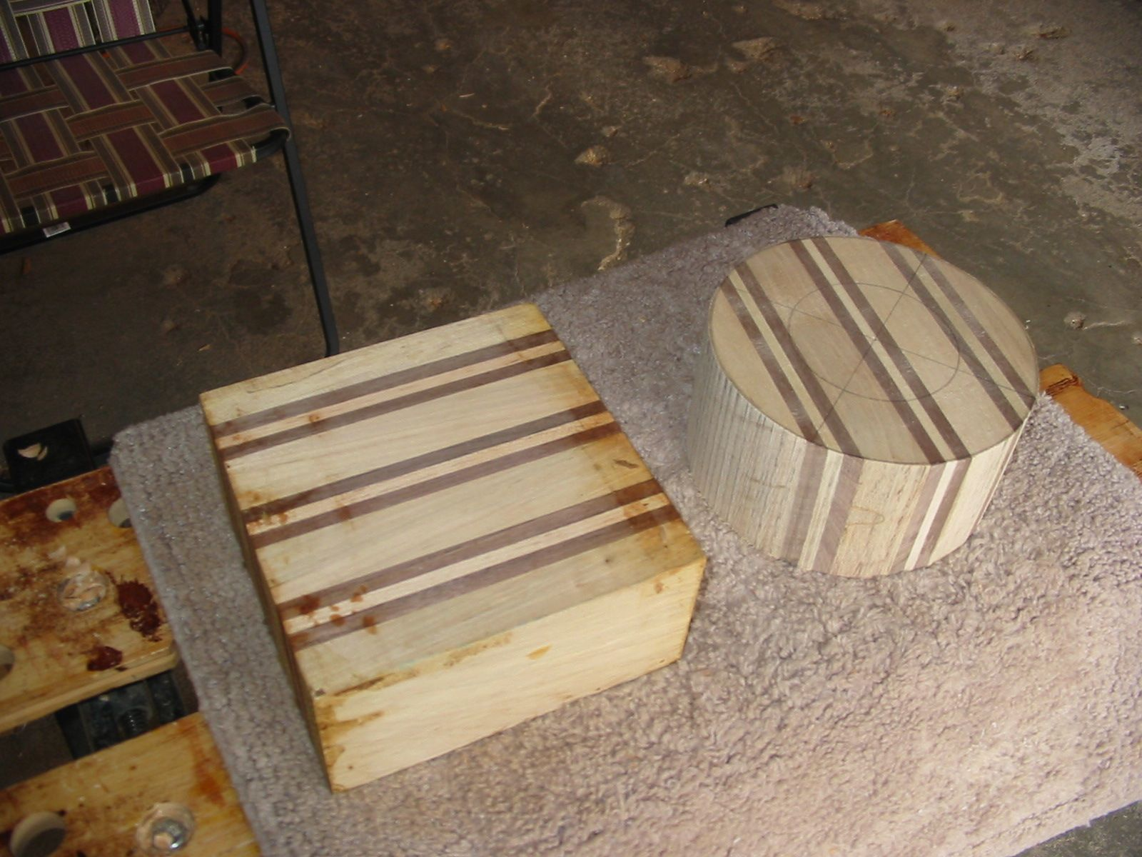Selkie Wood Works Next Project Laminated Turning Blanks