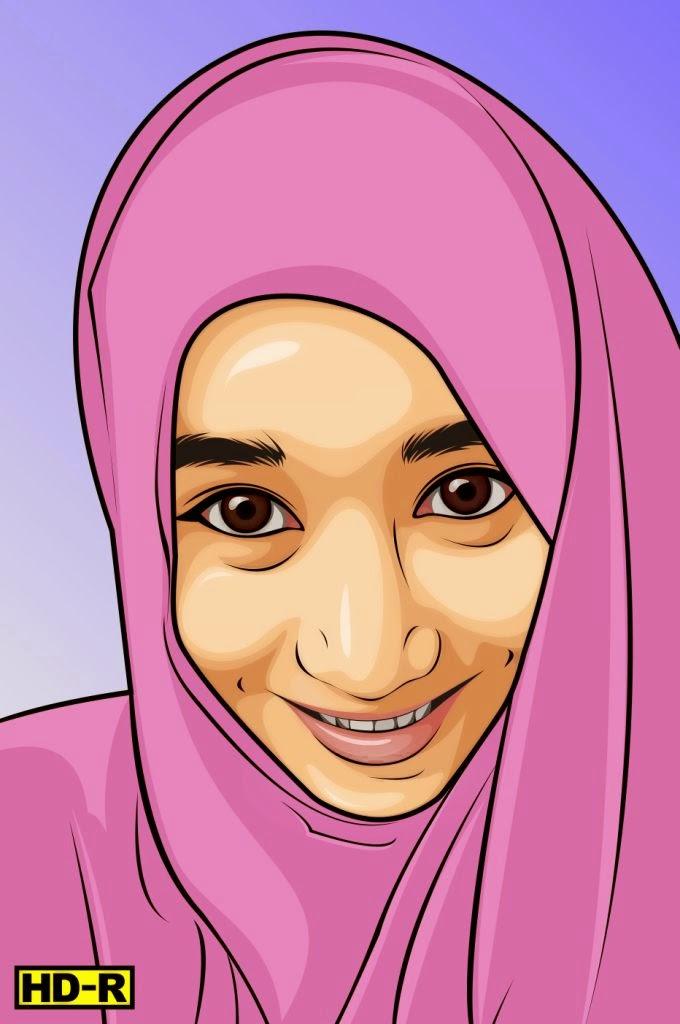 hijab vector