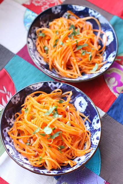 salade de carottes comme en Chine