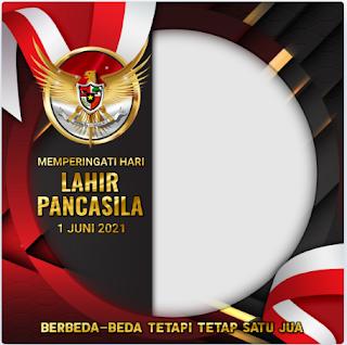 TERBARU! Twibbon Keren Hari Lahir Pancasila 2021