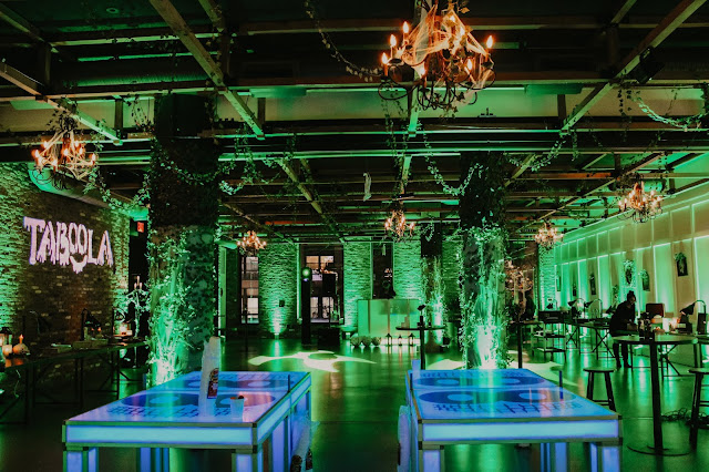 NYC, halloween party, corporate events, event design