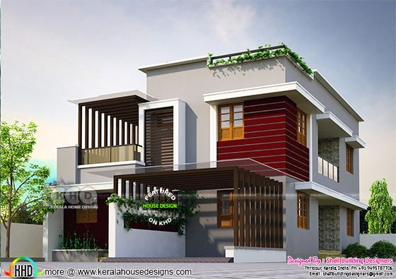 Rescued house project design