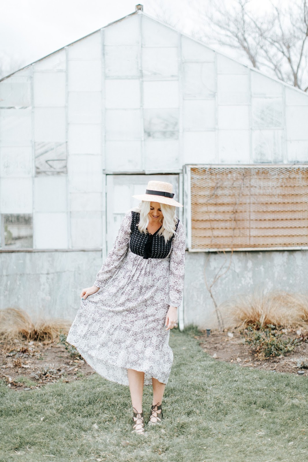 Peasant Dress, Goldies, Summer Outfit