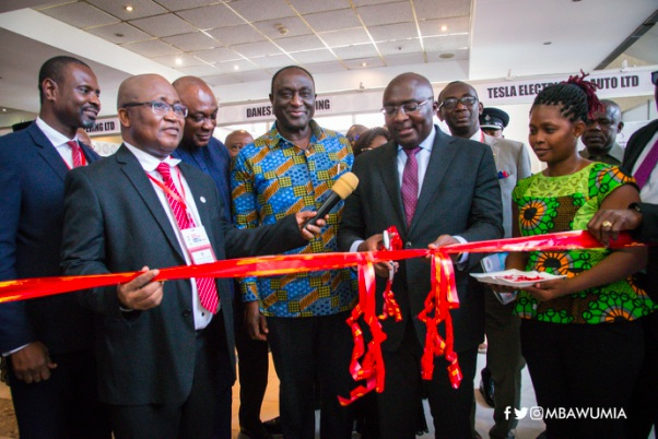 "'Government's Industrialization Drive Is On Track"" –Dr. Bawumia"