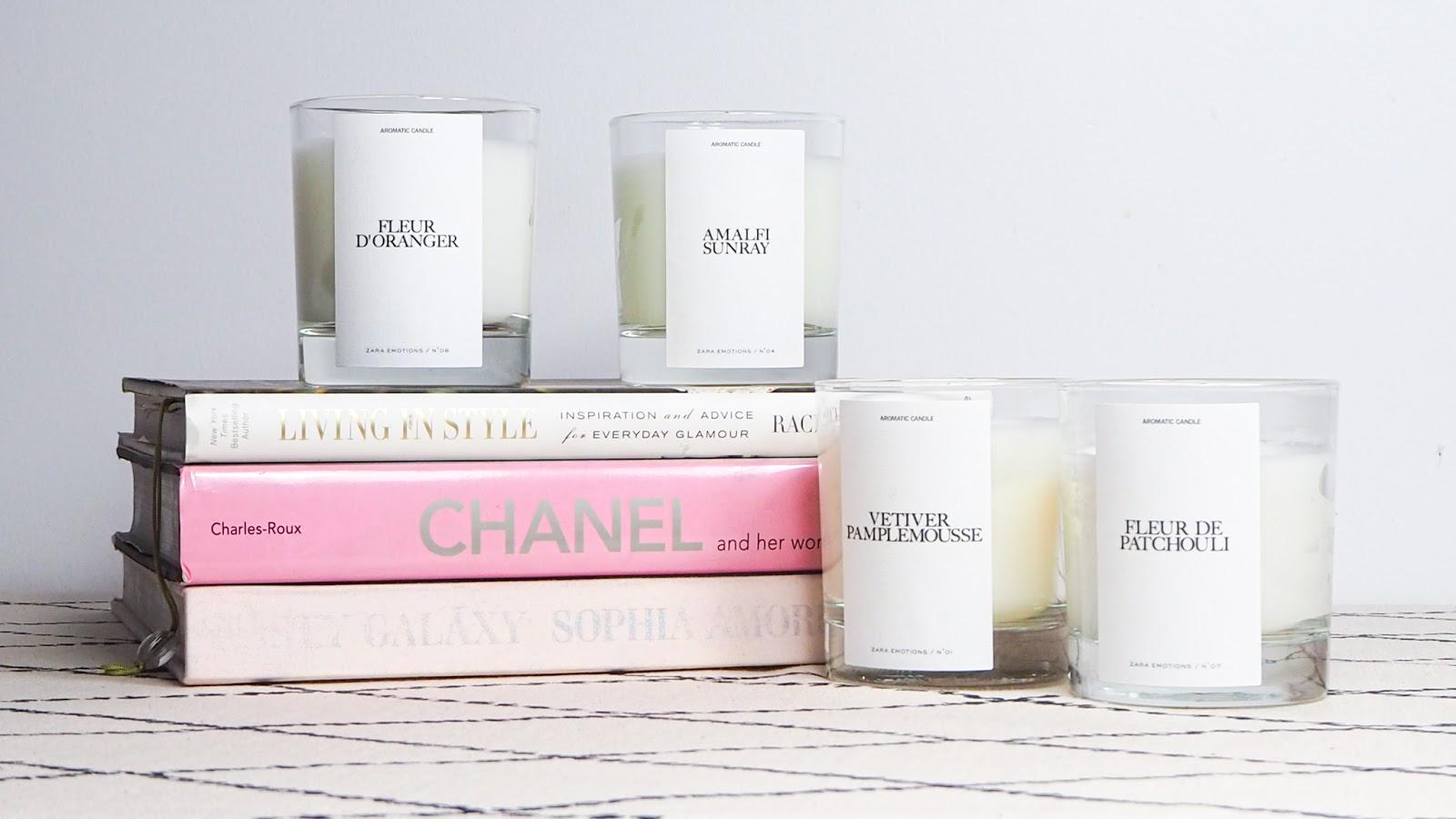 Zara Emotions Candles