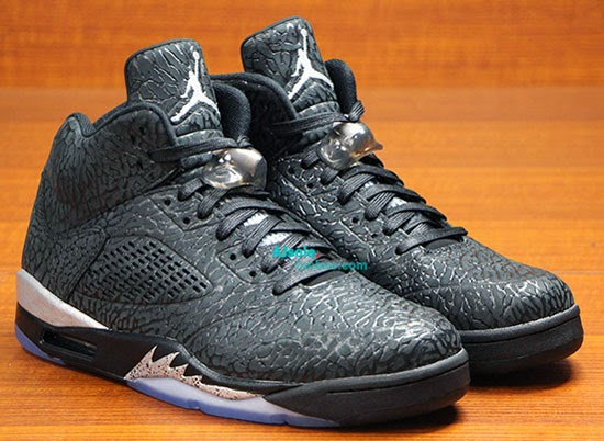 sports shoes 47c5c 056b3 Air Jordan 5 Retro 3Lab5 Black Black-Metallic Silver 2014