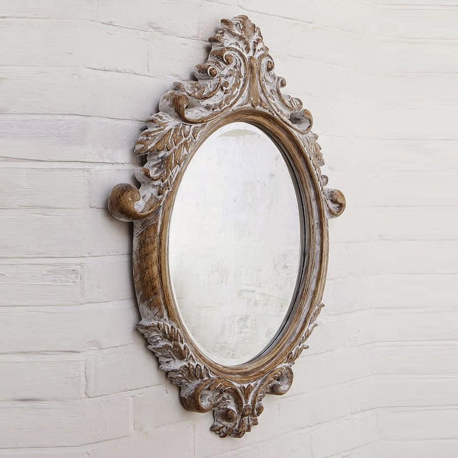 10 espejos vintage para una decoración de época