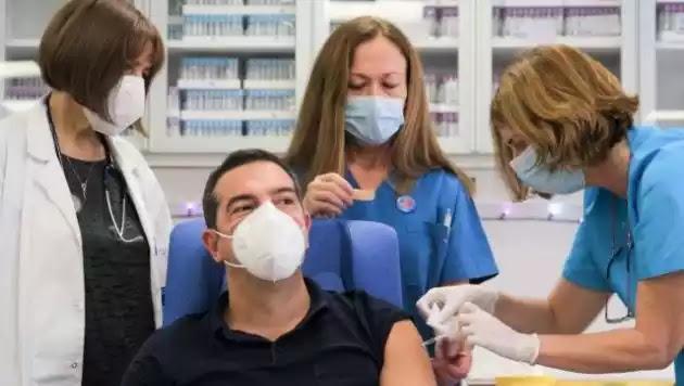 Τσίπρας: «Οι Έλληνες να μην αισθάνονται ανασφάλεια απέναντι στο εμβόλιο»