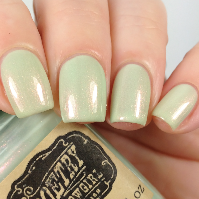 Poetry Cowgirl Nail Polish-Peppermint Stick