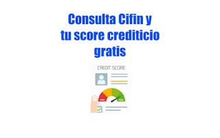 Consulta Cifin gratis y puntaje de crédito con TransUnion