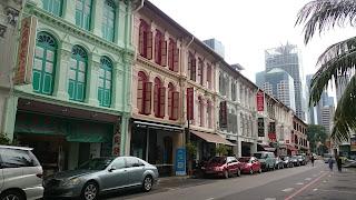 Chinatown Mosque Street Singapore