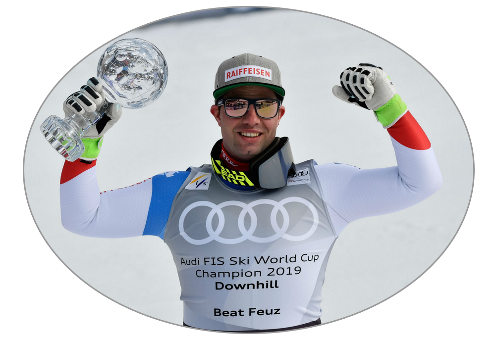 Beat Feuz glóbus zjazd - Andorra 2019