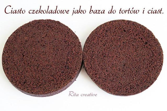 Ciasto czekoladowe jako baza do tortu i ciast