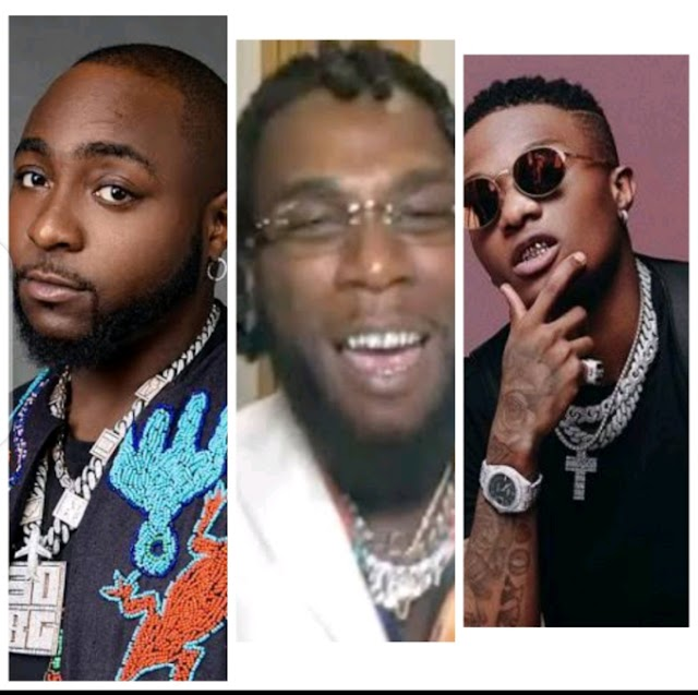 Grammy 2021:Reactions As Davido Congratulates Wizkid and Burna Boy