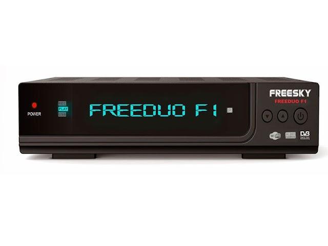 Freesky Freeduo F1 Atualização V2.62 - 18/11/2020