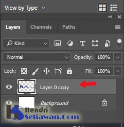 Membuat Bayangan pada Foto/gambar/Teks di Photoshop CC/CS | Cara Cepat