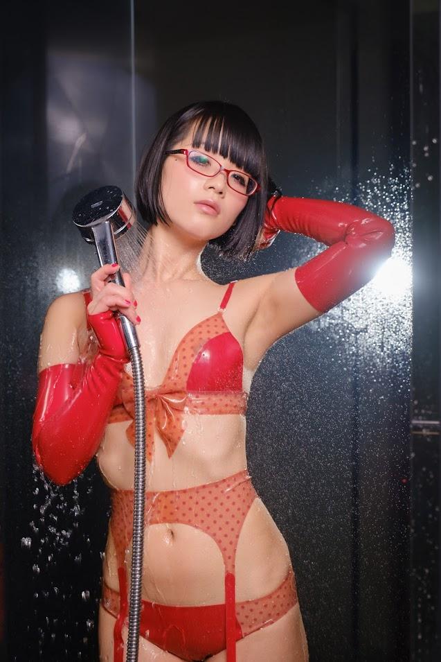 Eri Kitami - Cosplay - Rubber Lingerie 1612991780_001_1