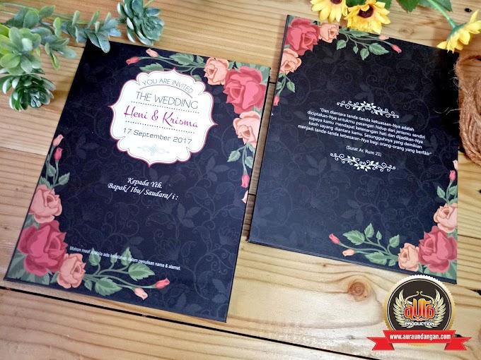 Perbedaan Undangan Softcover & Hardcover