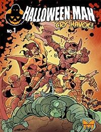 Halloween Man Comic