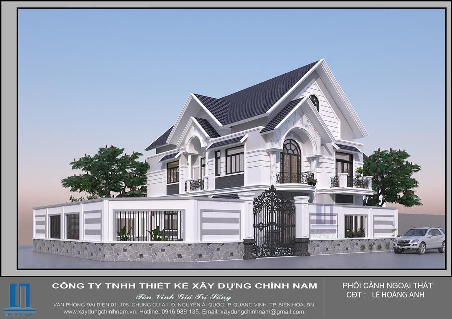 BT22: Biệt thự mái thái ở Biên Hòa - Đồng Nai