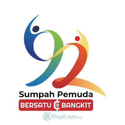 Hari Sumpah Pemuda ke-92 (2020) Logo Vector