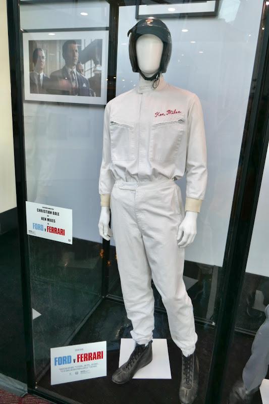 Christian Bale Ford v Ferrari Ken Miles costume