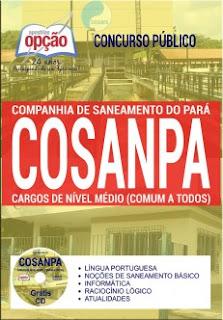Apostila Concurso Cosanpa 2017 Cargos de Nível Médio