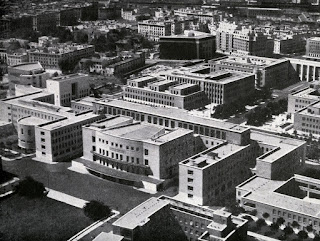 The modern campus of the Sapienza University of Rome was designed in the 1930s by Marcello Piacentini