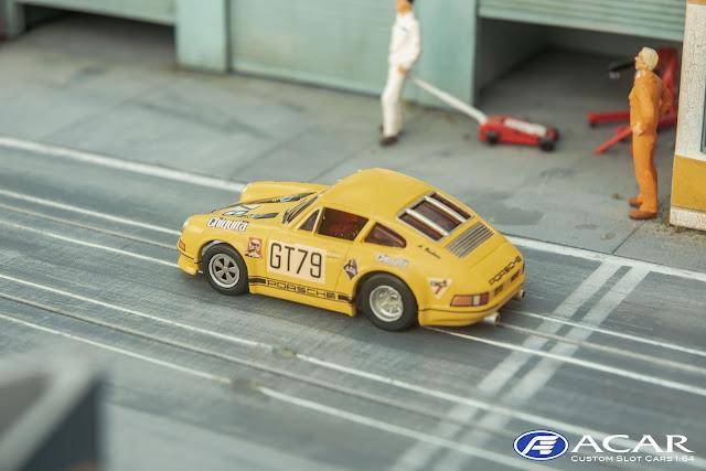 AFX Porsche 911S Custom Nürburgring 1970 #79