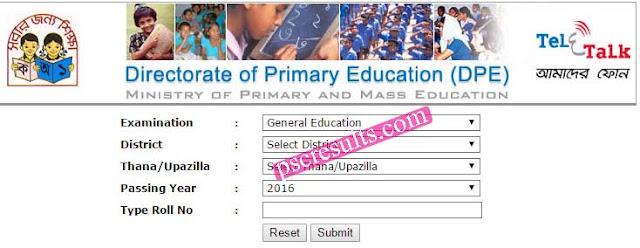 www dperesult teletalk com bd